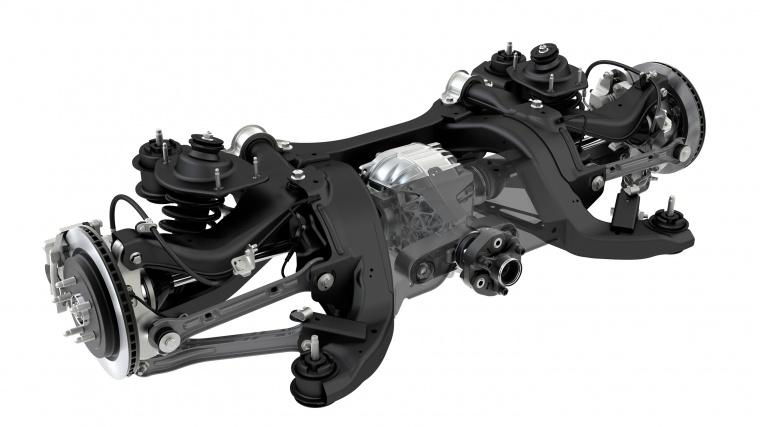 2013 Chevrolet Camaro Rear Suspension Picture