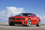 2013 Chevrolet Camaro ZL1 Coupe in Victory Red - Static Front Left Three-quarter View