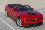 2013 Chevrolet Camaro ZL1 Convertible in Victory Red - Static Front Right Three-quarter Top View