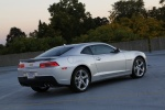 2014 Chevrolet Camaro LT RS Coupe in Silver Ice Metallic - Static Rear Right Three-quarter View