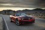 2014 Chevrolet Camaro SS Convertible in Red Rock Metallic - Static Front Right View