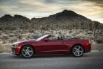 2014 Chevrolet Camaro SS Convertible in Red Rock Metallic - Static Side View