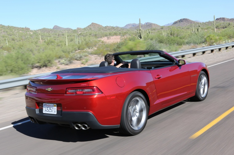 2015 Chevrolet Camaro SS Convertible Picture