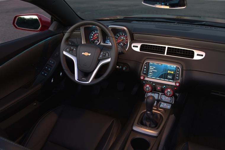 2015 Chevrolet Camaro SS Convertible Interior Picture