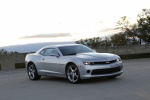 2015 Chevrolet Camaro LT RS Coupe in Silver Ice Metallic - Static Front Right Three-quarter View