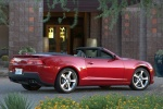 2015 Chevrolet Camaro SS Convertible in Red Rock Metallic - Static Rear Right Three-quarter View