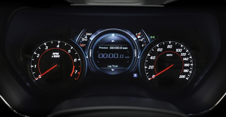 2016 Chevrolet Camaro RS Coupe Gauges Picture