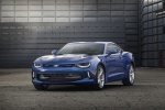 2016 Chevrolet Camaro RS Coupe in Hyper Blue Metallic - Static Front Left Three-quarter View