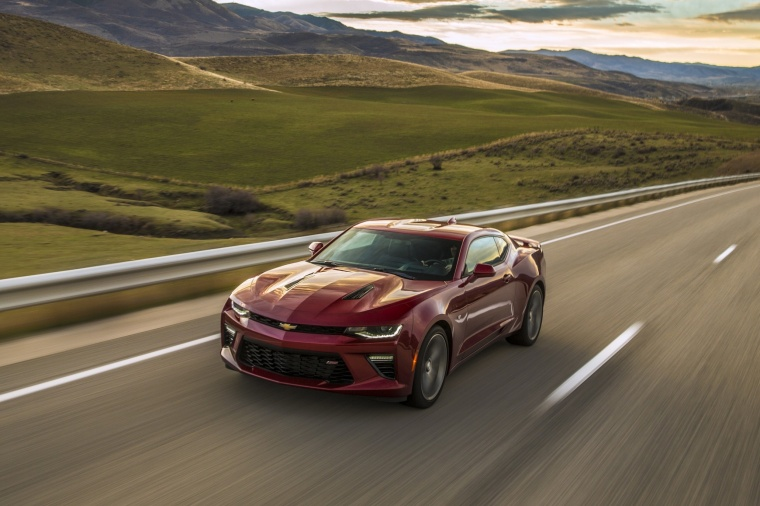 2017 Chevrolet Camaro SS Coupe Picture