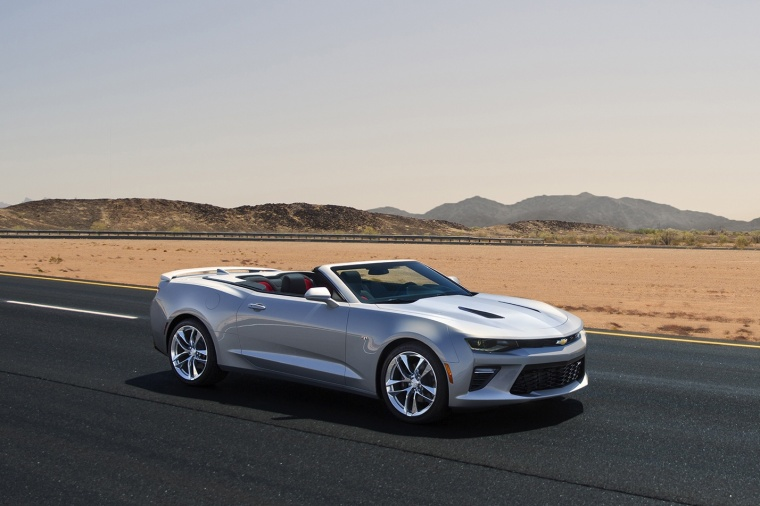 2017 Chevrolet Camaro Convertible Picture