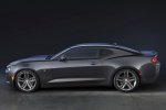 2017 Chevrolet Camaro RS Coupe in Nightfall Gray Metallic - Static Side View