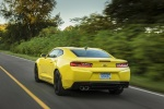 2017 Chevrolet Camaro RS Coupe in Bright Yellow - Driving Rear Left View