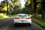 2017 Chevrolet Camaro RS Coupe in Summit White - Driving Rear View
