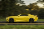 2017 Chevrolet Camaro SS Coupe in Bright Yellow - Driving Side View
