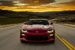 2017 Chevrolet Camaro SS Coupe in Garnet Red Tintcoat - Driving Frontal View