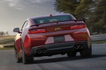 2017 Chevrolet Camaro SS Coupe in Garnet Red Tintcoat - Driving Rear View