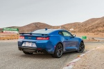 2017 Chevrolet Camaro ZL1 Coupe in Hyper Blue Metallic - Static Rear Right Three-quarter View