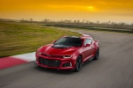 2017 Chevrolet Camaro ZL1 Coupe in Red Hot - Driving Front Left View