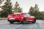 2017 Chevrolet Camaro ZL1 Coupe in Red Hot - Static Rear Right Three-quarter View