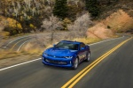 2017 Chevrolet Camaro RS Coupe in Hyper Blue Metallic - Driving Front Left View