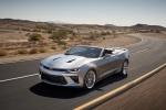 2017 Chevrolet Camaro Convertible in Silver Ice Metallic - Driving Front Left Three-quarter View
