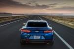 2017 Chevrolet Camaro RS Coupe in Hyper Blue Metallic - Driving Rear View