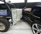 2018 Chevrolet Camaro IIHS Side Impact Crash Test Picture