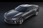 2018 Chevrolet Camaro RS Coupe in Nightfall Gray Metallic - Static Front Left Three-quarter Top View