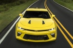 2018 Chevrolet Camaro SS Coupe in Bright Yellow - Driving Frontal View