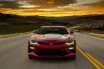 2018 Chevrolet Camaro SS Coupe in Garnet Red Tintcoat - Driving Frontal View
