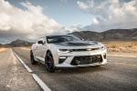 2018 Chevrolet Camaro SS 1LE Coupe in Summit White - Static Front Right View
