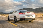 2018 Chevrolet Camaro SS 1LE Coupe in Summit White - Static Rear Left View