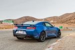 2018 Chevrolet Camaro ZL1 Coupe in Hyper Blue Metallic - Static Rear Right Three-quarter View