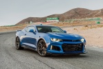2018 Chevrolet Camaro ZL1 Coupe in Hyper Blue Metallic - Static Front Right Three-quarter View