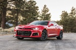 2018 Chevrolet Camaro ZL1 Coupe in Red Hot - Static Front Left Three-quarter View