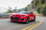 2018 Chevrolet Camaro ZL1 Coupe in Red Hot - Driving Front Left View