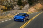 2018 Chevrolet Camaro RS Coupe in Hyper Blue Metallic - Driving Front Left View