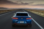 2018 Chevrolet Camaro RS Coupe in Hyper Blue Metallic - Driving Rear View
