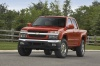 2010 Chevrolet Colorado Crew Cab LT V8 Z71 in Tangier Orange from a frontal view