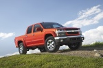 2010 Chevrolet Colorado Crew Cab LT V8 Z71 in Tangier Orange - Static Front Right Three-quarter View