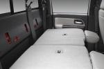 Picture of 2010 Chevrolet Colorado Crew Cab Rear Seats Folded