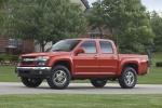 2010 Chevrolet Colorado Crew Cab LT V8 Z71 in Tangier Orange - Static Front Left Three-quarter View
