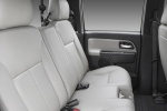 Picture of 2011 Chevrolet Colorado Crew Cab Rear Seats