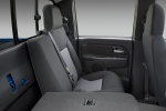 Picture of 2011 Chevrolet Colorado Crew Cab Rear Seats Folded