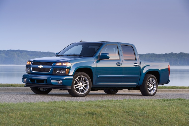 2012 Chevrolet Colorado Crew Cab LT V8 Picture
