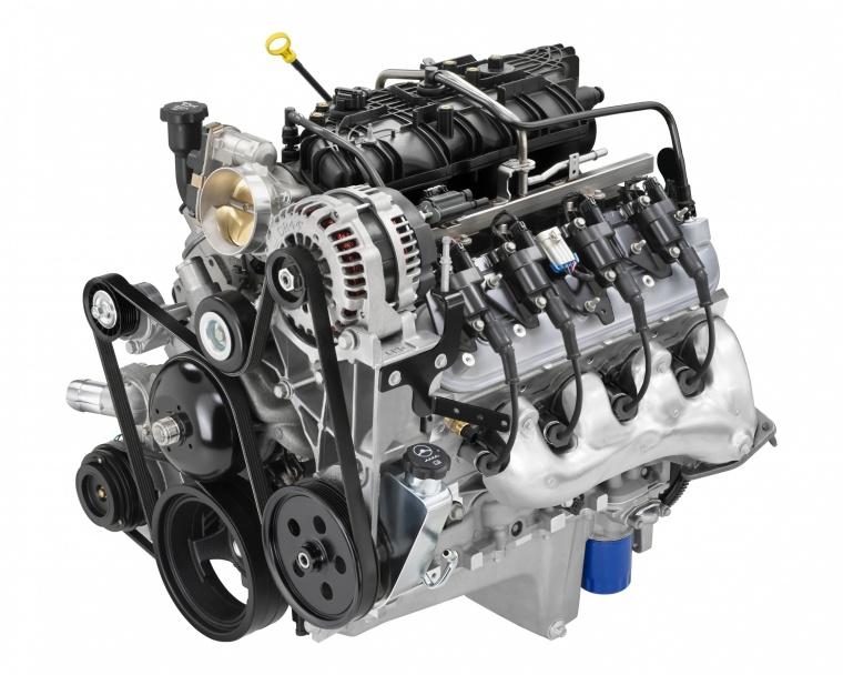 2012 Chevrolet Colorado 5.3-liter V8 Engine Picture
