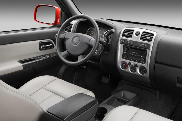 2012 Chevrolet Colorado Crew Cab Interior Picture