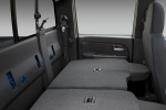 Picture of 2012 Chevrolet Colorado Crew Cab Rear Seats Folded