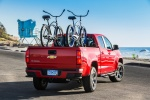 2015 Chevrolet Colorado Crew Cab in Red Hot - Static Rear Right View