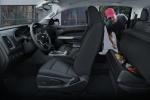 Picture of 2015 Chevrolet Colorado Crew Cab Interior in Jet Black